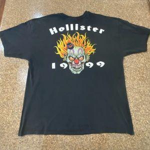 Hollister Vintage Bike Run Event Shirt XXL